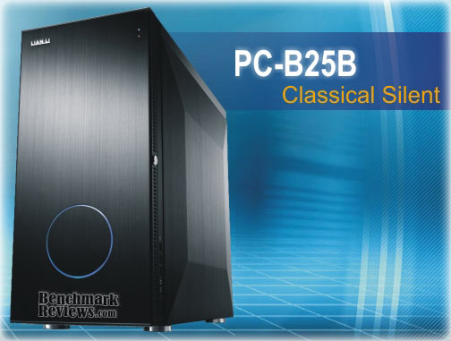 Lian Li PC-B25B Black Aluminum Mid-Tower ATX Case