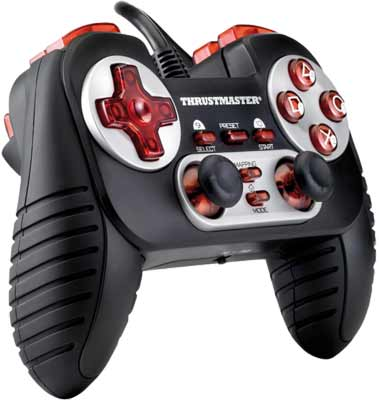 Thrustmaster Dual Trigger 3-in-1 Rumble Force Gamepad for PC / PS2 / PS3
