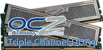 OCZ 6GB Triple-Channel 1333 MHz DDR3 Memory Kit OCZ3P1333LV6GK