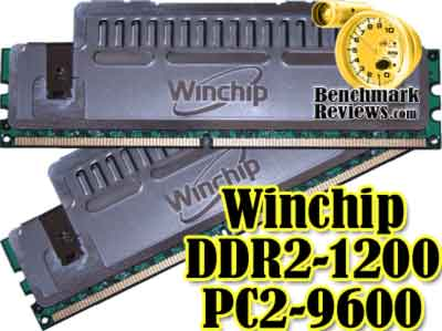 Winchip DDR2 1200MHz PC2-9600 2GB RAM Kit