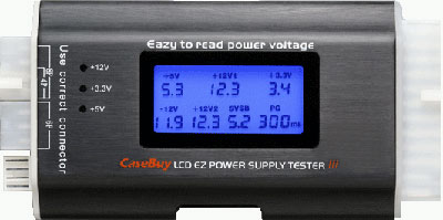 Casebuy LCD EZ Power Supply Tester 3
