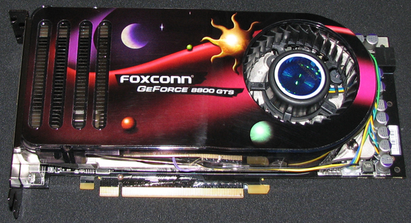Top View: FOXCONN GeForce 8800 GTS (Click for larger image)