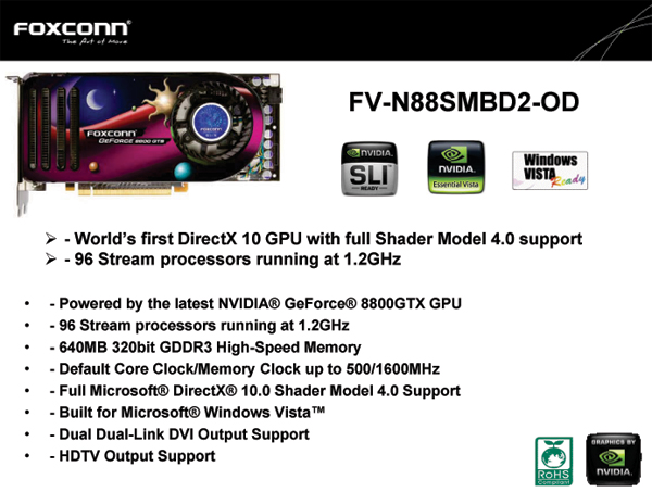 FOXCONN Model FV-N88SMBD2-OD: short for PERFORMANCE.