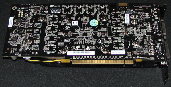 Bottom View: FOXCONN GeForce 8800 GTS (Click for larger image)